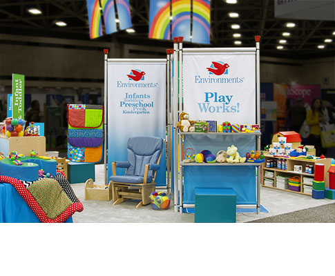 Trade Show Display for Environments