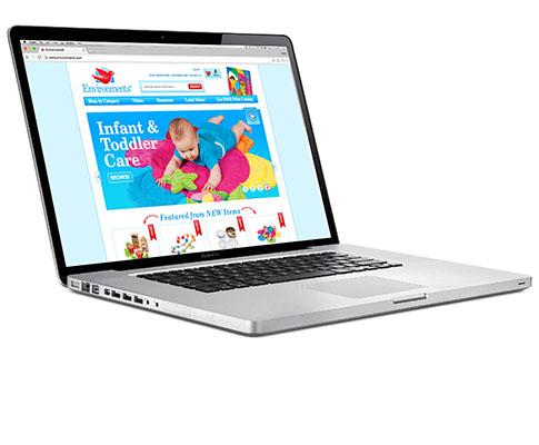 Environments E-commerce Website