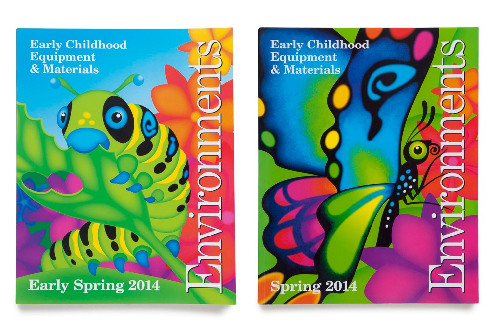 2014 Spring Catalog front covers