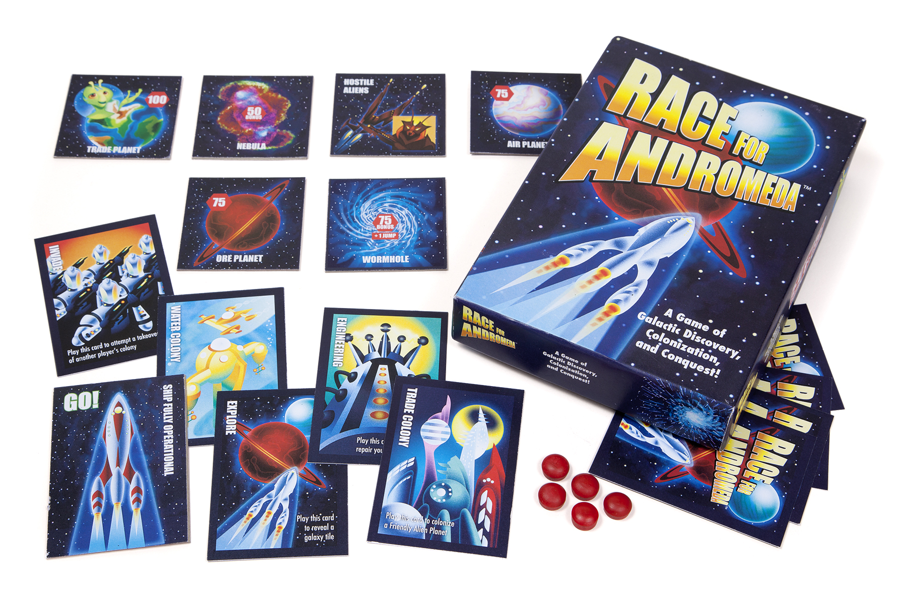 Graphic Design for Space Themed Board Game