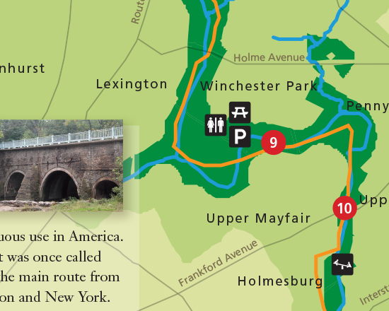 Pennypack Greenway Brochure/Map