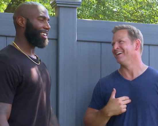 Behind the Scenes Video at Philadelphia Eagles Safety Malcom Jenkins Renovation