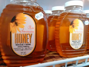 This Saturday, we will be giving away 1 lb containers of HONEY from