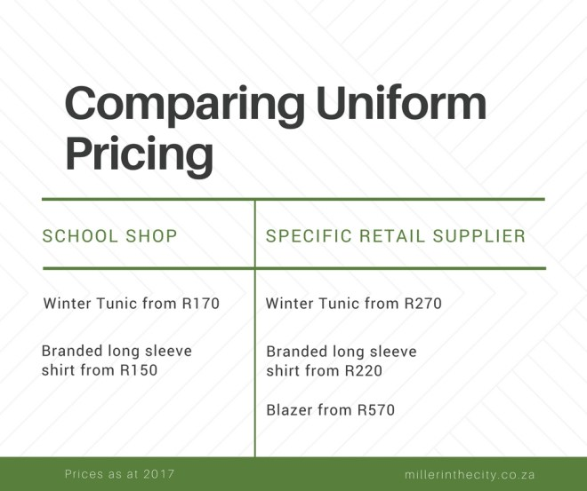 rising costs school uniform leaving hole parents pockets