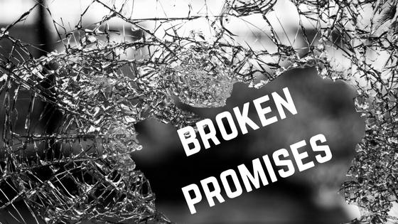 Understanding effects broken promises