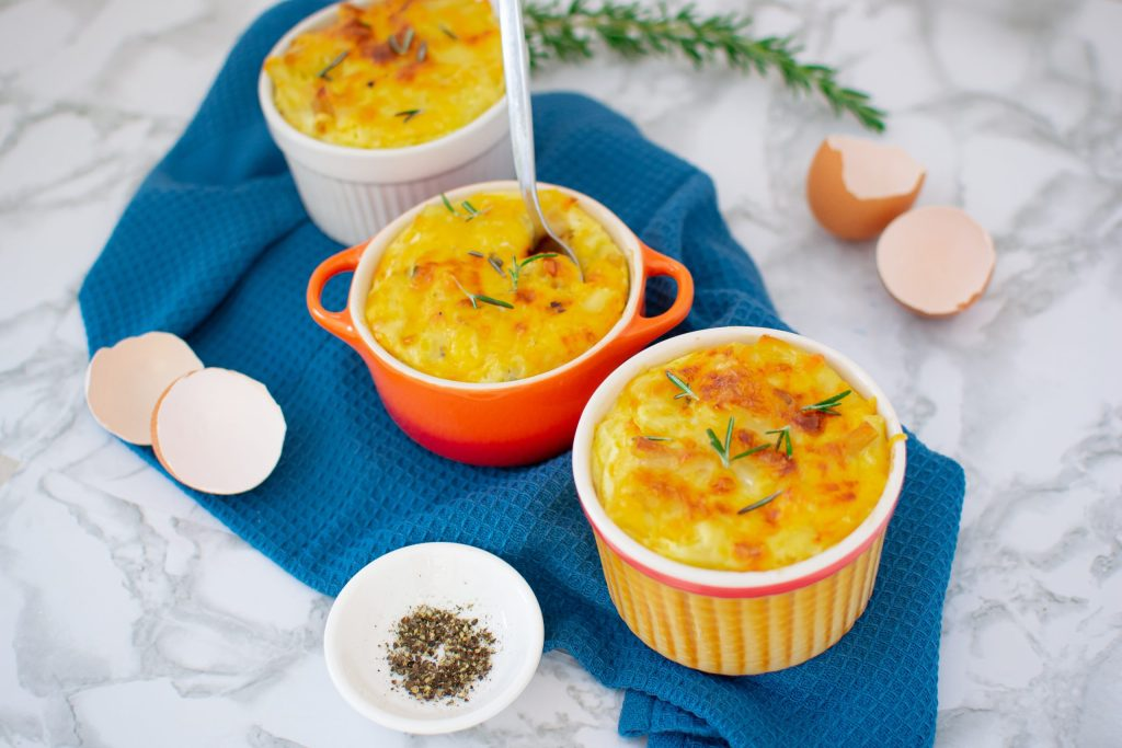 Delicious Homemade Custard-Style Mac and Cheese