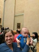 Theo and the Mona Lisa