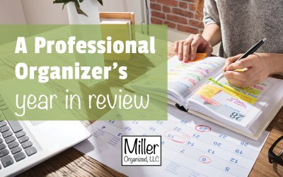 A Professional Organizer's Year in Review