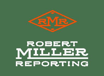 robert miller reporting logo