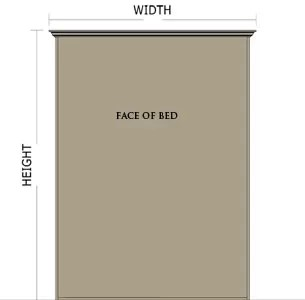 Miller's Murphy Bed: Panel bed measurements