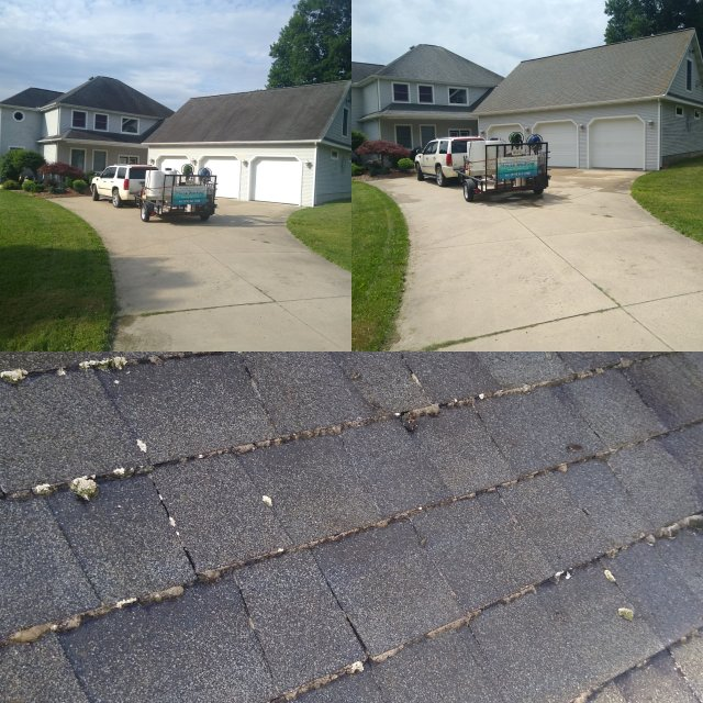 Roof Softwash Cleaning