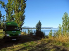 Free Camping am Lake Taupo