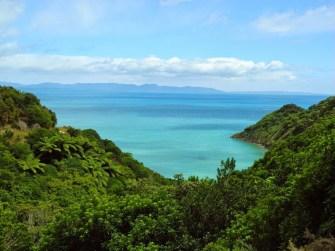 Vom Wainui Bay nach Wharawharangi