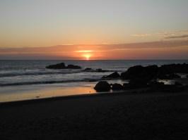 Sonnenuntergang Las Penitas