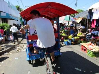 Rikschafahrer in Leon