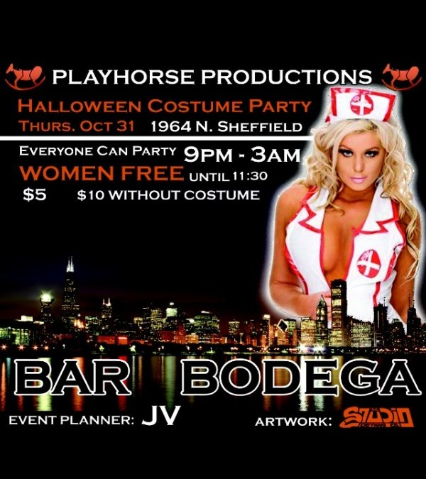 HALLOWEEN COSTUME PARTY [THURSDAY]
