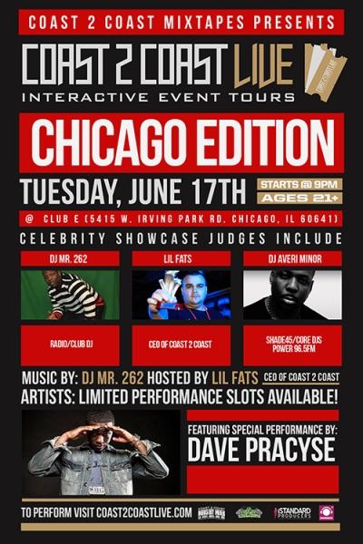 DAVE PRACYSE & DJ AVERI MINOR @ COAST 2 COAST MIXTAPES LIVE [TONIGHT]