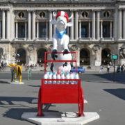 Lait-triporteur - Artiste : Martine Diotalevi - Sponsor : L'Interprofession Laitiere