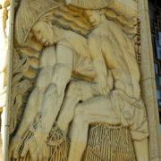 Bas-relief de la façade Alfred Janniot (détail)