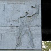 Le Corbusier, La maison radieuse de Rezé, Facade Est
