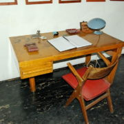Le Corbusier, La maison radieuse de Rezé, L'appartement: bureau pièce centrale