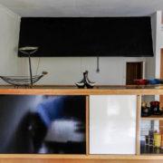 Le Corbusier, Briey, Porte d'entrée (a droite), cuisine et passe-plat