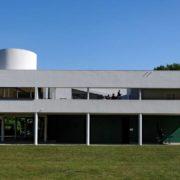 Le Corbusier, la villa Savoye, Façade Sud-Ouest