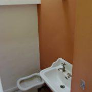 Le Corbusier, la villa Savoye, Cabinet de toilette de la chambre du fils