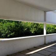 Le Corbusier, la villa Savoye,La Terrasse du 1er etage