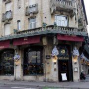 Brasserie l'Excelsior (1910) - architectes Lucien Weissenburger et Alexandre Mienville - angle rue Henri-Poincaré et place Thiers