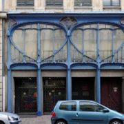Immeuble du Dr Aimé (1903) - architectes Georges Biet et Eugène Vallin