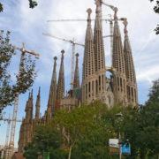 Barcelone, Sagrada Familia, vue générale