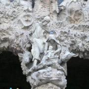 Barcelone, Sagrada Familia, façade de la Nativité