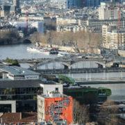 Tour Paris 13, Pont de Sully, Hôtel Lambert en travaux, Centre Georges Pompidou