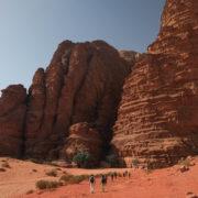 A l'entrée du canyon Kahz'ali