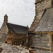 enclos paroissial de La Roche Maurice avec ossuaire