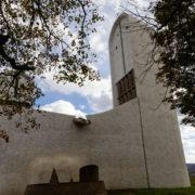 La chapelle, coté ouest