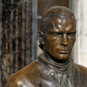 Marquis de Joeffroy d'Abbans, auteur de la première expérience de mavigation à vapeur dans le Doubs en 1776