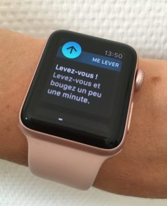 apple watch levez vous