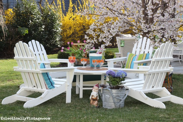 Resin Adirondack Chairs; Home Improvenent Furniture Ideas