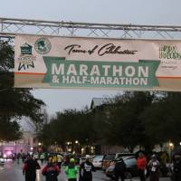 "Race Review: 2017 Town Of Celebration Half Marathon (1/29/2017), or: ""I'll run in the rain 'til I'm breathless..."""