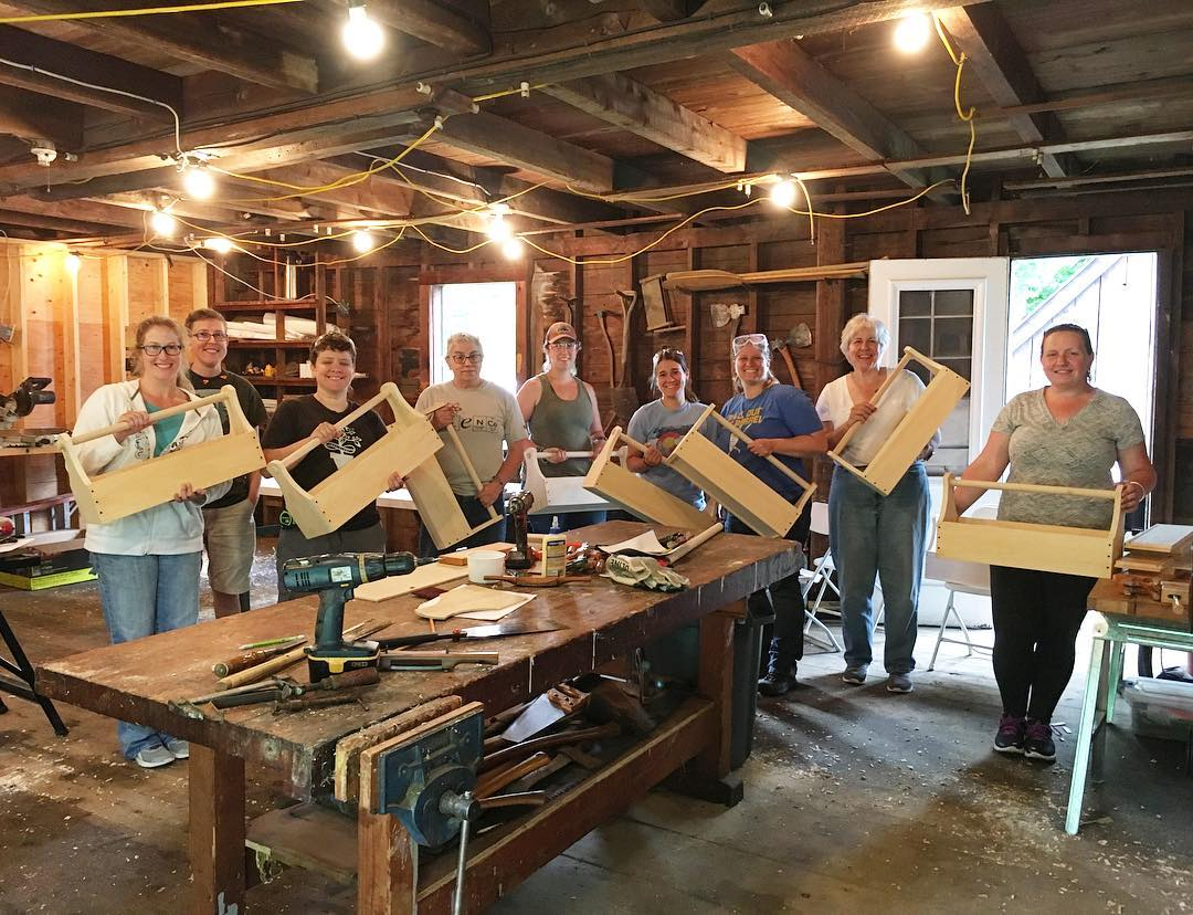 Woodworking for Women - Mill Hollow Works, LLC