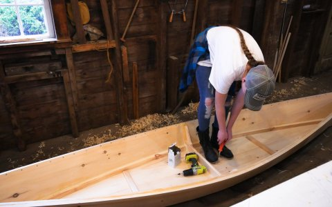 Boatbuilding for Teens