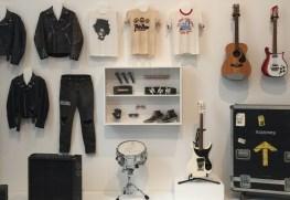 Wardrobe and instruments
