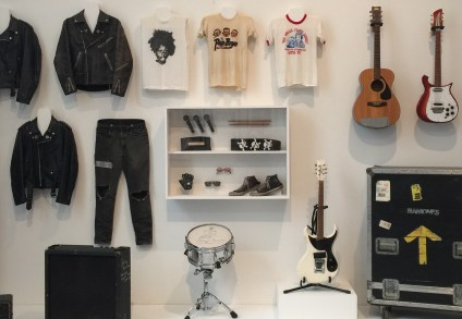 Wardrobe and instruments