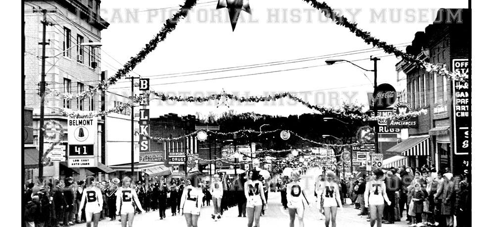 1966 Christmas Parade, Belmont, NC