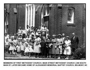 Main Street Methodist Church, Belmont, NC