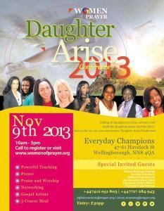 Daughter Arise 2013