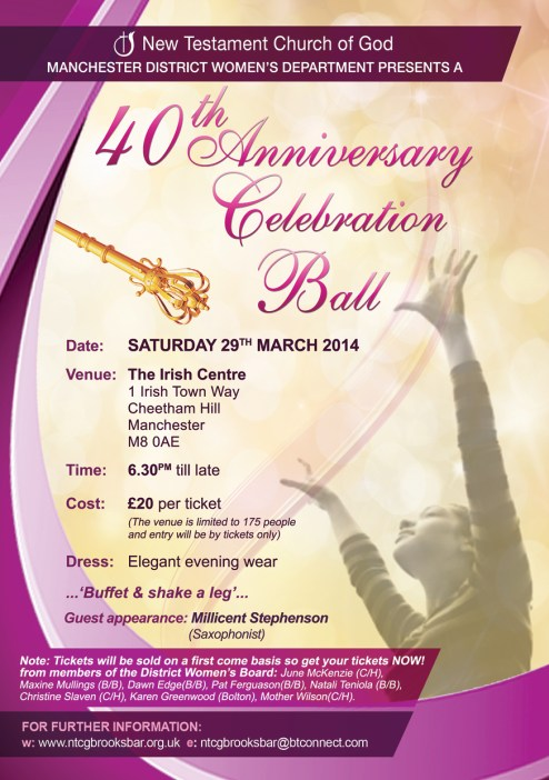 40th Annual Ball 2014 A5 Flyer FINAL