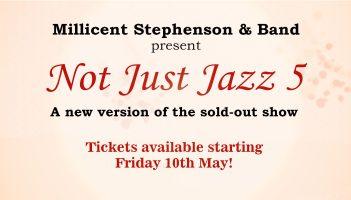 Not Just Jazz 5 Millicent Stephenson promo header by Angela Schuster